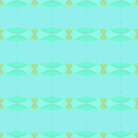 seamless pattern old retro style with aqua marine, pale turquoise and light green colors. repeating background illustration can be used for wallpaper, cards or textile fashion design.