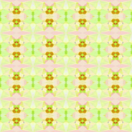 colorful seamless pattern with pale golden rod, golden rod and khaki colors. repeating background illustration can be used for wallpaper, wrapping paper or textile fashion design.
