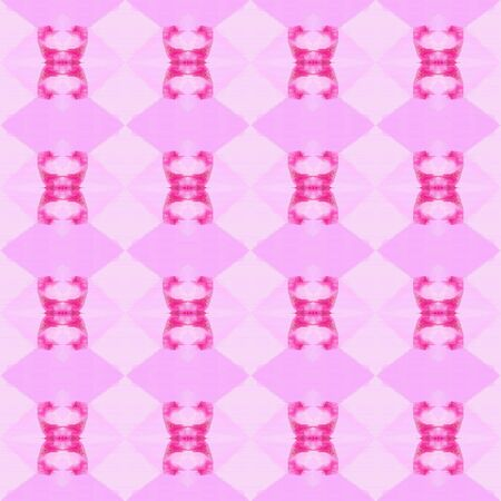 seamless geometric pattern with pastel pink, neon fuchsia and hot pink colors. repeating background illustration can be used for fashion textile design, web page background or surface textures.
