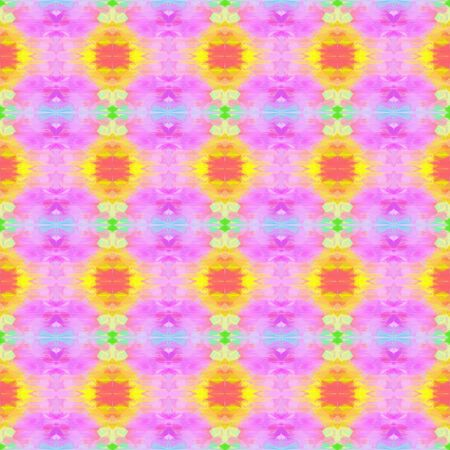 seamless vintage pattern with plum, pastel orange and khaki colors. repeating background illustration can be used for wallpaper, cards or textile fashion design.