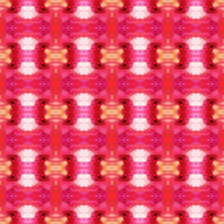seamless vintage pattern with crimson, baby pink and pale violet red colors. repeating background illustration can be used for wallpaper, creative or textile fashion design.