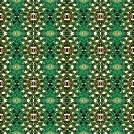 Repeatable Pattern With Dark Olive Green Light Gray And Gray