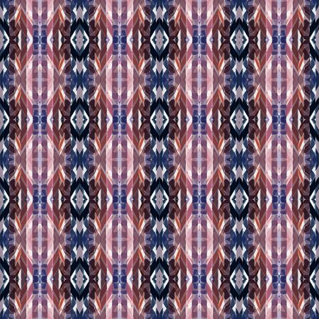 repeatable pattern with dim gray, old lavender and thistle colors. seamless graphic can be used for wallpaper, home decor, fashion textile and textures. Foto de archivo