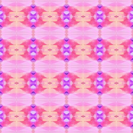abstract seamless pattern with pink, hot pink and medium orchid colors. repeating background illustration can be used for wallpaper, creative or textile fashion design. Stock Photo