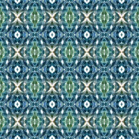 seamless repeating pattern with teal blue, beige and light slate gray colors. can be used for printable design, background wallpaper and texture. Stock fotó