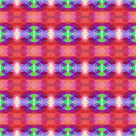 colorful seamless pattern with moderate pink and medium sea green colors. repeating background illustration can be used for wallpaper, creative or textile fashion design. Stock fotó