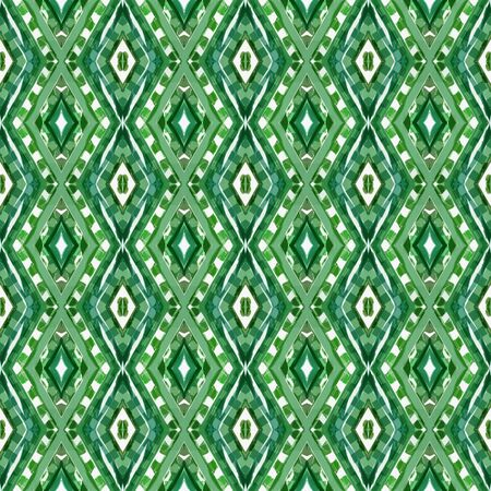 seamless repeating pattern with sea green, white smoke and dark sea green colors. can be used for wallpaper, fabric, pattern fills and surface textures. Stock fotó