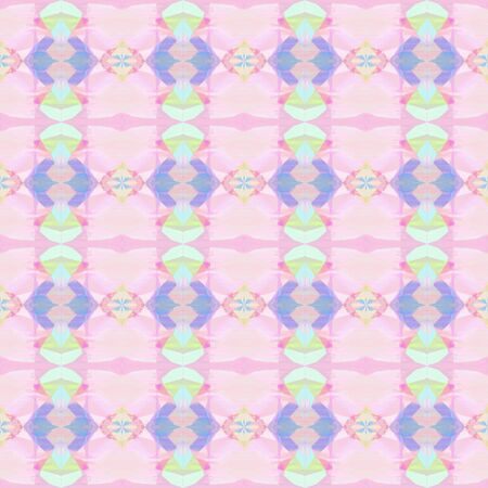 abstract seamless pattern with pastel pink, light steel blue and plum colors. repeating background illustration can be used for wallpaper, cards or textile fashion design.