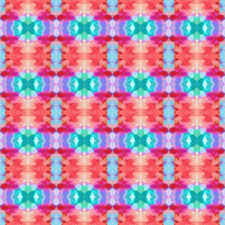 seamless retro pattern with pale violet red and light sea green colors. repeating background illustration can be used for wallpaper, creative or textile fashion design.
