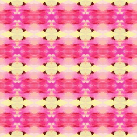 seamless pattern old retro style with hot pink, moderate pink and wheat colors. repeating background illustration can be used for wallpaper, wrapping paper or textile fashion design.