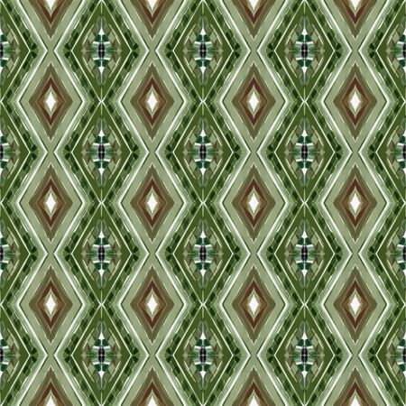 repeatable pattern with pastel brown, dark olive green and beige colors. seamless graphic can be used for printable design, background wallpaper and texture. Stock fotó