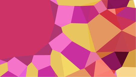 multicolor triangles with moderate pink, sandy brown and orchid color. abstract geometric background graphic. can be used for wallpaper, poster, cards or graphic elements. Reklamní fotografie - 130148872