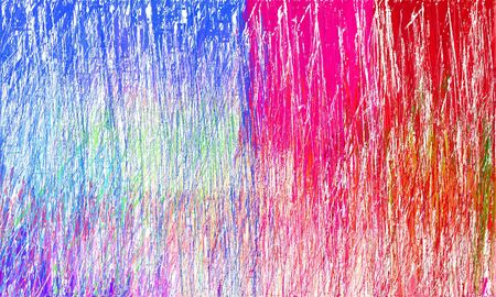 creative colorful drawing strokes background with royal blue, crimson and misty rose colors. can be used as wallpaper, background or graphic element. Reklamní fotografie - 130148901