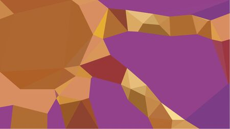 abstract geometric background with antique fuchsia, sienna and sandy brown color triangles. can be used for wallpaper, poster, cards or graphic elements. Reklamní fotografie