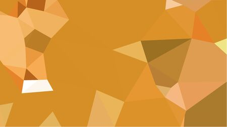 multicolor triangles with peru, bronze and light salmon color. abstract geometric background graphic. can be used for wallpaper, poster, cards or graphic elements.