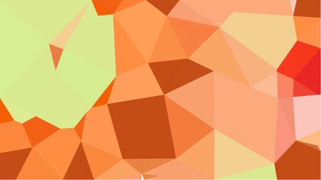 multicolor triangles with sandy brown, coffee and khaki color. abstract geometric background graphic. can be used for wallpaper, poster, cards or graphic elements.
