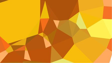 geometric multicolor triangles with vivid orange, coffee and sandy brown color. abstract background graphic. can be used for wallpaper, poster, cards or graphic elements. Reklamní fotografie