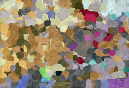abstract colorful grunge painting style with gray gray, pastel brown and dark slate gray colors.