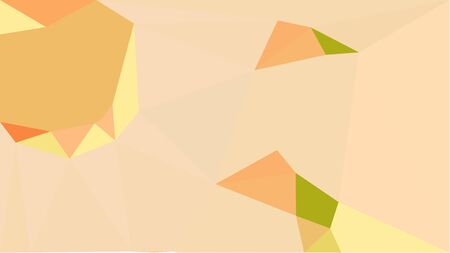 multicolor triangles with wheat, sandy brown and golden rod color. abstract geometric background graphic. can be used for wallpaper, poster, cards or graphic elements. Reklamní fotografie