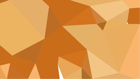 multicolor geometric triangles with sandy brown, coffee and bronze color. abstract background graphic. can be used for wallpaper, poster, cards or graphic elements.