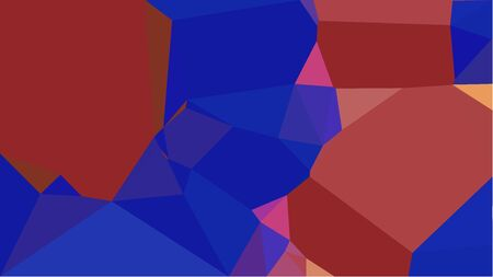 multicolor geometric triangles with dark moderate pink, dark blue and sandy brown color. abstract background graphic. can be used for wallpaper, poster, cards or graphic elements. Reklamní fotografie