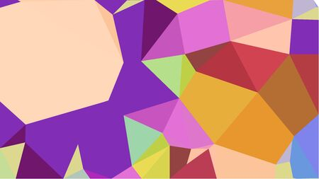 triangles background with dark magenta, golden rod and wheat colors. can be used for wallpaper, poster, cards or graphic elements. Reklamní fotografie