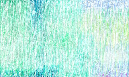 colorful drawing strokes background with light sea green, light cyan and sky blue colors. can be used as wallpaper, background or graphic element. Reklamní fotografie - 130149348