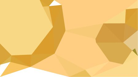 triangles background with khaki, golden rod and sandy brown colors. can be used for wallpaper, poster, cards or graphic elements.