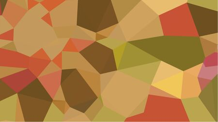 multicolor geometric triangles with peru, brown and coffee color. abstract background graphic. can be used for wallpaper, poster, cards or graphic elements. Reklamní fotografie