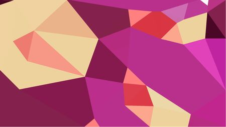 abstract geometric background with moderate pink, burly wood and light coral color triangles. can be used for wallpaper, poster, cards or graphic elements.