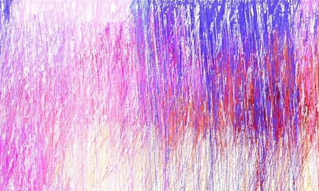 grunge drawing strokes background with copy space for text or image with pastel pink, moderate violet and medium slate blue colors. can be used as wallpaper, background or graphic element. Reklamní fotografie