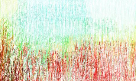 abstract drawing strokes background with copy space for text or image with beige, honeydew and crimson colors. can be used as wallpaper, background or graphic element.