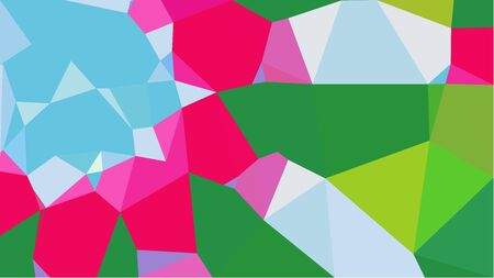 geometric multicolor triangles with sea green, bright pink and powder blue color. abstract background graphic. can be used for wallpaper, poster, cards or graphic elements.