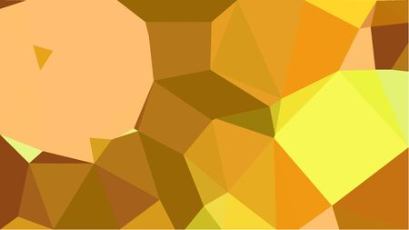 multicolor triangles with golden rod, bronze and olive color. abstract geometric background graphic. can be used for wallpaper, poster, cards or graphic elements. Reklamní fotografie