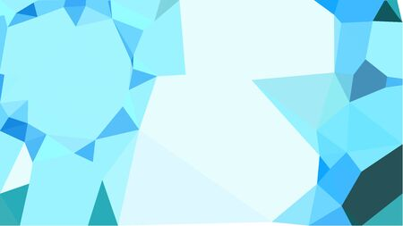 multicolor geometric triangles with pale turquoise, steel blue and light cyan color. abstract background graphic. can be used for wallpaper, poster, cards or graphic elements.