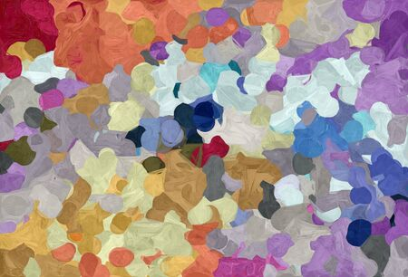 abstract decoration painting style with rosy brown, dark slate blue and light gray colors.