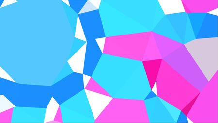 multicolor triangles with turquoise, neon fuchsia and light gray color. abstract geometric background graphic. can be used for wallpaper, poster, cards or graphic elements.