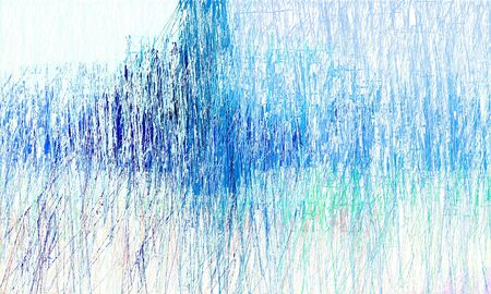 creative colorful drawing strokes background with steel blue, dodger blue and lavender colors. can be used as wallpaper, background or graphic element.