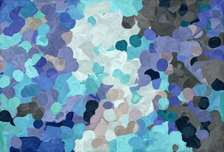 abstract natural painting style with light slate gray, light gray and very dark blue colors. Stock Photo