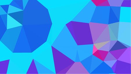 multicolor geometric triangles with deep sky blue, medium orchid and royal blue color. abstract background graphic. can be used for wallpaper, poster, cards or graphic elements.