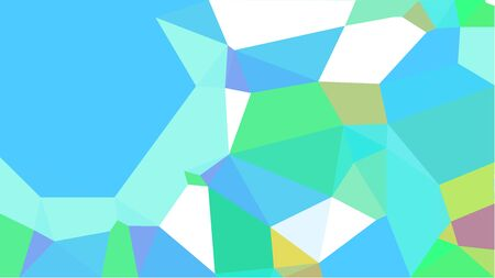 triangles background with medium turquoise, tan and pale turquoise colors. can be used for wallpaper, poster, cards or graphic elements.