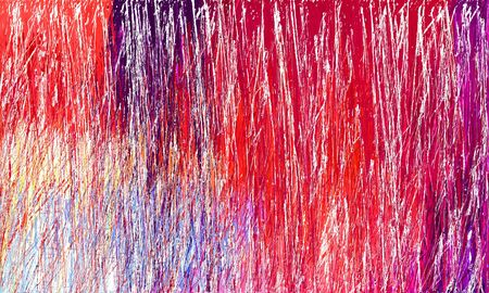 grunge drawing strokes background with copy space for text or image with linen, crimson and very dark magenta colors. can be used as wallpaper, background or graphic element. Reklamní fotografie - 130149874