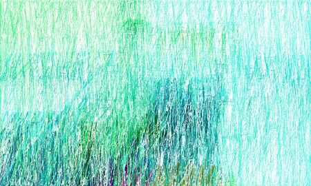 colorful drawing strokes background with light sea green, light cyan and medium aqua marine colors. can be used as wallpaper, background or graphic element. 스톡 콘텐츠