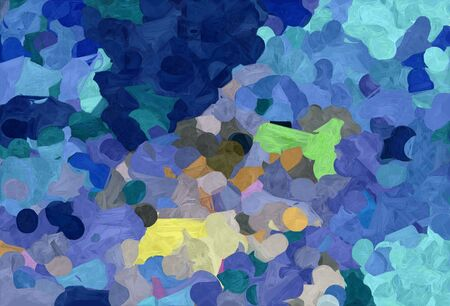 abstract natural painting style with steel blue, tan and medium aqua marine colors. 스톡 콘텐츠