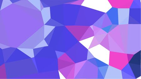 multicolor geometric triangles with medium slate blue, slate blue and lavender blue color. abstract background graphic. can be used for wallpaper, poster, cards or graphic elements. Reklamní fotografie