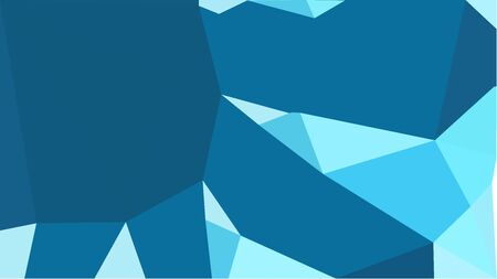 multicolor triangles with teal, pale turquoise and medium turquoise color. abstract geometric background graphic. can be used for wallpaper, poster, cards or graphic elements. Stock Photo - 130149935