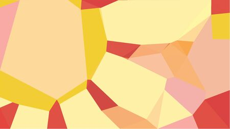 multicolor geometric triangles with skin, peru and sandy brown color. abstract background graphic. can be used for wallpaper, poster, cards or graphic elements.