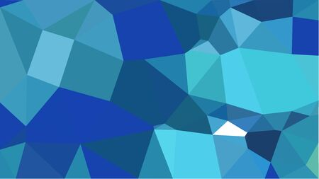 triangles background with teal blue, steel blue and medium turquoise colors. can be used for wallpaper, poster, cards or graphic elements.