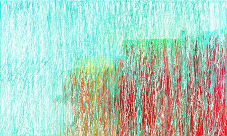 abstract painting strokes background with turquoise, crimson and honeydew colors. can be used as wallpaper, background or graphic element.