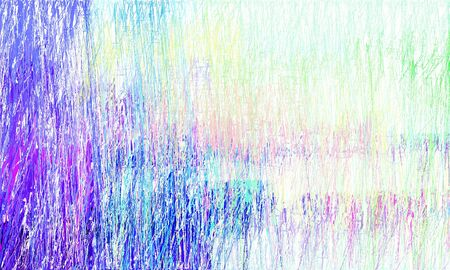grunge drawing strokes background with copy space for text or image with lavender, honeydew and royal blue colors. can be used as wallpaper, background or graphic element. Stock Photo